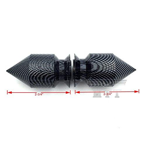 NBX- Carbon Spikes Schwingarm Spulen 10 mm Gewinde ohne Logo für Kawasaki Ninja 250R 2008-2011/ ZX-10R ZX1000 2004-2010/ ZX-12R ZX1200 2000-2005