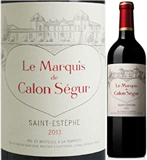 ル・マルキ・ド・カロン・セギュール 2013 赤ワイン 750ml 1本