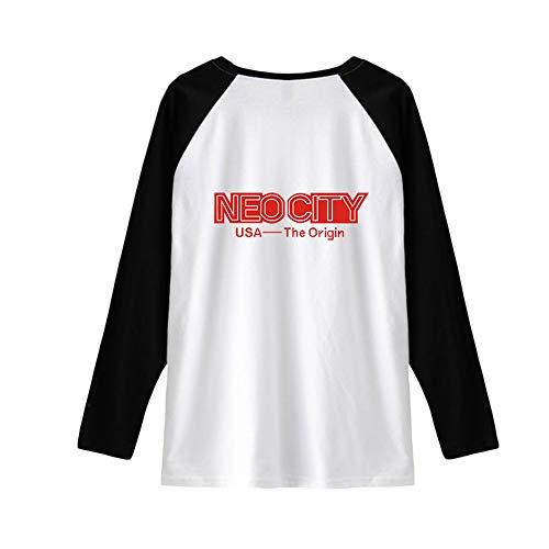 Por favor, lea la tabla de tallas detallada antes de comprar. La camiseta de manga larga para hombre más vendida, ligera y transpirable, camiseta deportiva con tecnología antiolor