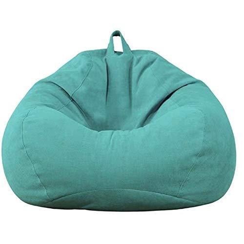 Highback Sitzsack Stuhl,LMM Wasserfester Kids Lounge Stuhl,Bezug Ohne Füllstoff Lazy Lounger Sitzsack Mit Hoher Rückenlehne,Sofa Sitzsäcke