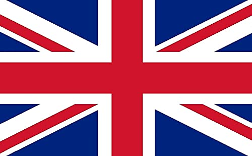 HYX Large Union Jack Flag 5ft x 3ft (150cm x 90cm) Great Britain National...