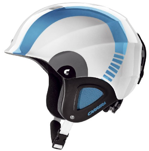 Carrera CJ-1, Junior Skihelm Blue Circle, Helmgröße:49-52 cm