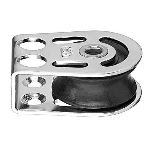 Liegeblock (Umlenkrolle) Gleitlager 8 mm - Hohlachse