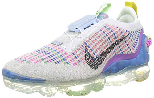Nike W Air Vapormax 2020 FK, Zapatillas para Correr Mujer, Pure Platinum Black Multi Color, 40 EU