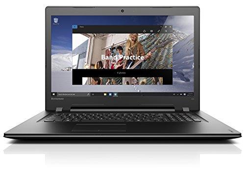 Lenovo 80QH004JIX Yoga 300 Portatile con Display da 17.3', Processore Intel Core i5-6200U da 2.3 GHz, 4 GB DDR3L-SDRAM, 1000 GB HDD, Scheda Grafica Intel HD Graphics 520, Windows 10 Home, Nero