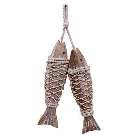 Mediterranean Fish Doll DIY Hanging Nautical Decor Boat Beach Wall Ornament