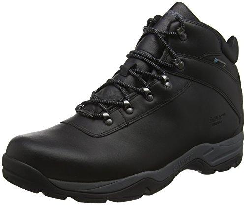 Hi-Tec Eurotrek III Waterproof, Botas de Senderismo Hombre, Negro (Black), 44 EU