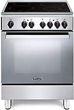 De Longhi DMX 64 IN ED - Cocina de inducción con horno eléctrico ventilado (60 x 60 cm, clase A, acero inoxidable)