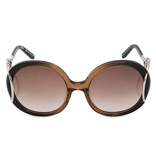 CHLOÉ CE703S zonnebril CE703S Chloe groot zonnebril 56, bruin