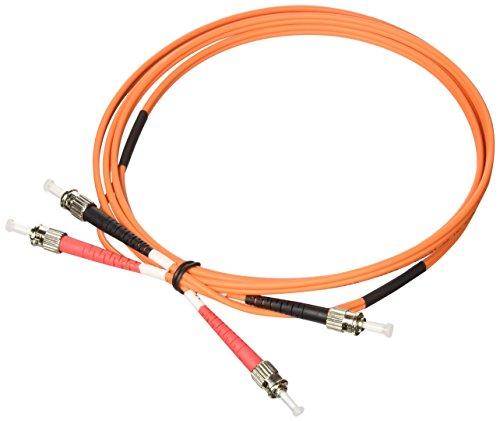 Opticord 2m ST/ST LWL-kabel oranje - vezel-optische kabel (2 m, ST, stekker/stekker, oranje)