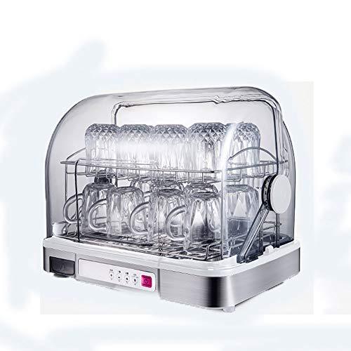 HFSKJWI UV-Desinfektionsschrank, Vertikale Sterilisation Sterilisatoren 26L UV-Desinfektionsbox Für Haushaltsgeschirr-Einfüllflaschen Instrumenten-Sterilisationskörbe