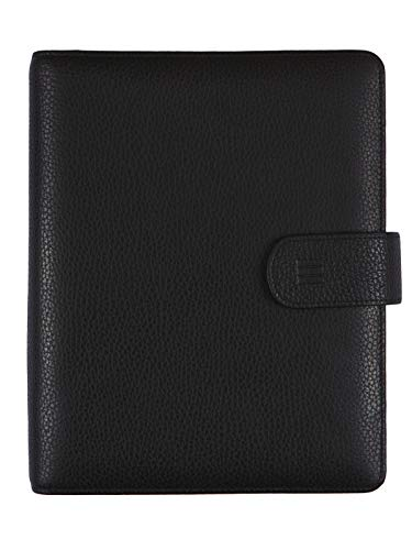 Finocam – Diary 2022 1 Day Page, from January 2022 to December 2022 (12 months) 1000 – 155 x 215 mm Open Leather Andrea Organiser Black Spanish