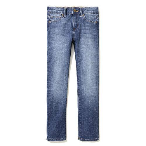 LOOK by Crewcuts Jungen Slim Fit jeans, Blau(Cowboy Wash), XXX-Large (16)