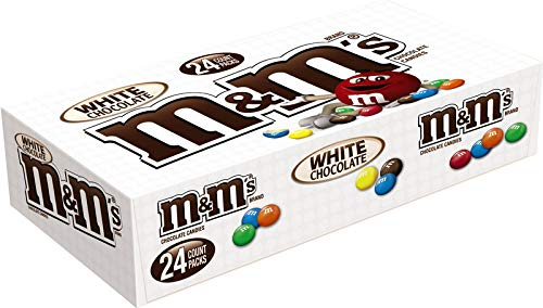 M&M's White Chocolate Singles Size Candy (24 x 42,5g)