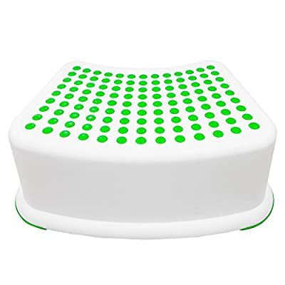 Kids Green Step Stool - Great for Potty Training, Bathroom, Bedroom, Toy Room, Kitchen, and Living Room. Perfect for Your House by Stool