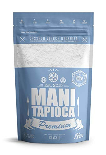 TAPIOCA Harina de Yuca Premium (500g) | TAPIOCA Farinha de Mandioca Premium (500g) | Tapioca Manioc Flour Premium (500g)