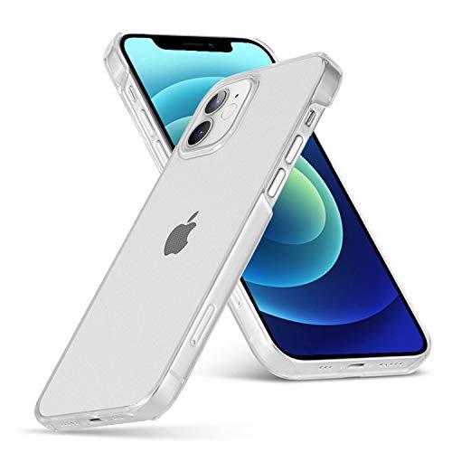 Arktis Premium Hardcase transparent, Polycarbonatcase kompatibel mit iPhone 12 Mini [kabelloses Laden] Schutzhülle Polycarbonathülle Case klar