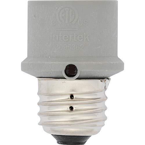 Westek SLC4CG Gray Automatic Photocell Sensor Control , White