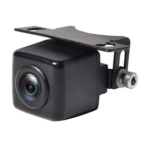 「Upgrade」PARKVISION 車載用小型バックカメラ/フロントカメラ 最低照度0lux闇夜でも見える超強暗視機能付き 130万高画質CMOSセンサー搭載 リア120°水平角度 正像&鏡像切替-ガイドライン有り&無し切替機能付き IP68防水防塵規格対応 Rca映像出力 12V車ホンダ、トヨタ、マツダ、鈴木等に対応「MP126S」