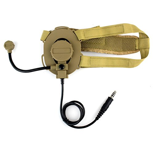 Bowman evo III auricular para casco auricular de la radio softair con...