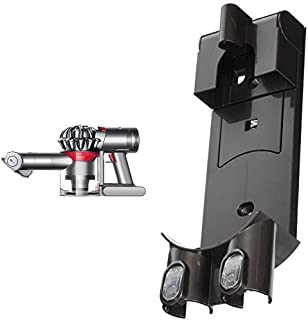 Dyson V7 Trigger Cord-Free Handheld Vacuum & Dyson DC58 DC59 Handheld Vacuum Cleaner Wall Mount Bracket / Docking Station