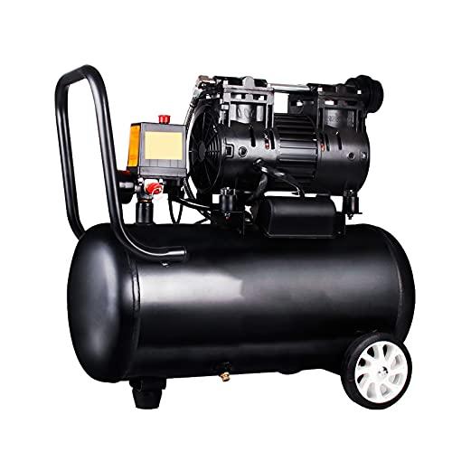 WUK Bomba de Aire portátil sin Aceite de 30L 550/750/800 W Compresor de Aire silencioso (65 dB) para renovación del hogar Inflado de neumáticos Pintura en Aerosol Herramientas neumáticas Bomba Dental