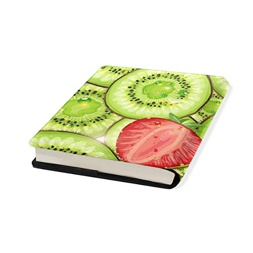 Kiwi Fruit Strawberry Pattern PU Leather School Book...