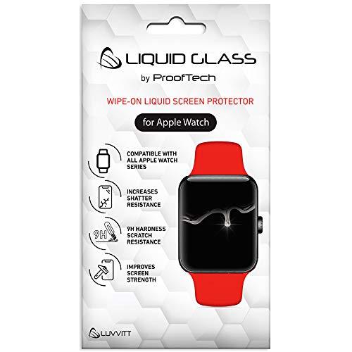 CrystalView - Protector de pantalla de cristal líquido para Apple Watch todas las series