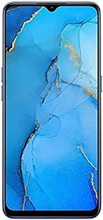موبايل اوبو رينو3 بشريحتين اتصال - شاشة 6.4 بوصة، 128 جيجابايت، رام 8 جيجابايت، شبكة الجيل الرابع ال تي اي - ازرق اورورا