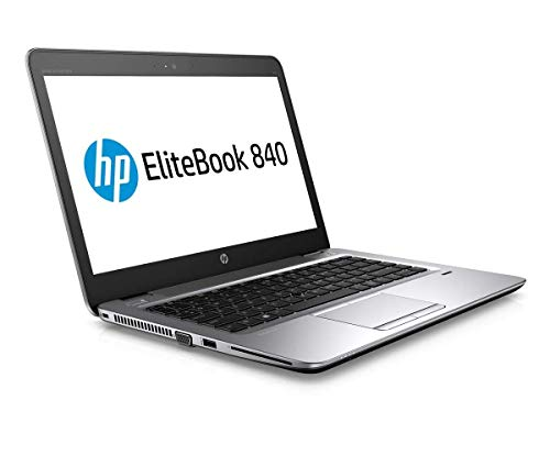 HP EliteBook 840 G3 - Ordenador portátil de 14 pulgadas, CPU Core i5 2,3 GHz, 8 GB RAM, 256 GB SSD, Windows 10 Pro (Reacondicionado)