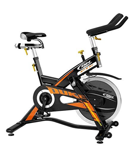 BH Hipower Unisex-Adult Indoor Bike Sb3 Magnetic Kraftstation, Silber, 189 x 200 x 225 cm