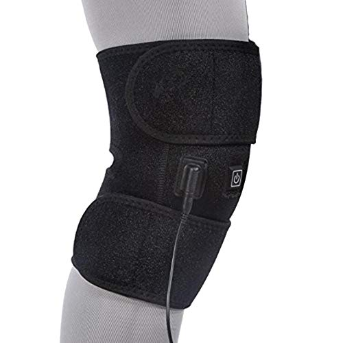 Calentamiento de rodilla, Rodillera Calentamiento de rodilla Terapia de calor con infrarrojo lejano Calentamiento de rodilla Rodillera para lesiones de rodilla / Calambres Recuperación de la artritis
