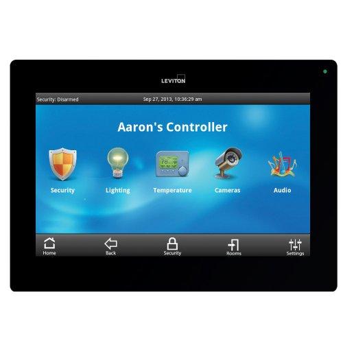 Leviton 99A00-2 OmniTouch 7 Color Touchscreen, Black