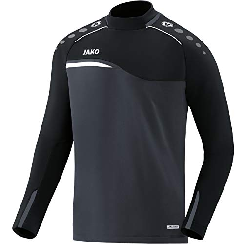 JAKO Herren Sweat Competition 2.0, anthrazit/schwarz, XL