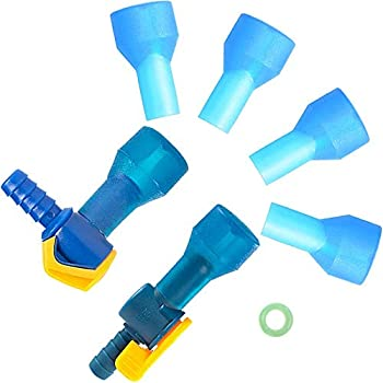 AXEN Hydration Water Bladder Accessories Kit, 10 in 1. Including Cleaning Tools and Bite valves Replacements