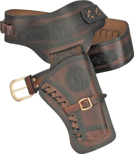 Leather Western Holster, Colt 45 Cowboy Holster by Regalos Limited