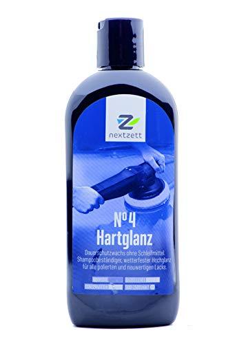 nextzett 250ml No4 Hartglanz Wax Versiegelung (vormals 1Z Einszett)