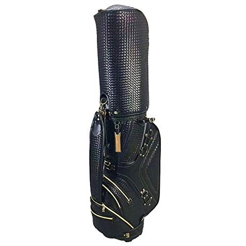 AMAIRS Golf Bag, Standard Golf Standing Bag Sunday Bag 5 Separate Storage Bag Easy to Carry Suitable for Men Women Golf Courses And Travel