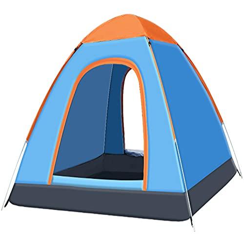 Tenda pop-up da esterno, tenda da campeggio ed escursionismo leggera, tenda da spiaggia a cupola con protezione UV impermeabile con borsa per il trasporto, per pesca in campeggio, verde, blu(Color:Blu