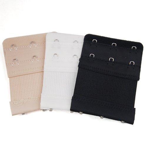 Gleader 3pcs Bandes allongees/Rallonge a soutien-gorge Souple Flexible Confortable