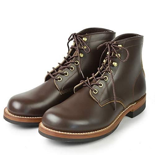 ロンウルフ エンジニアブーツ ファーマー MECHANIC LW00450 139DBRW ブーツ サイズ8 1/2