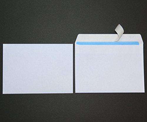 1000 St. Briefumschläge DIN C6 weiß ohne Fenster Versandtaschen HK Kuvert
