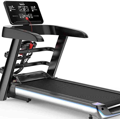 Treadmills for Home Folding, Small Fitness Equipment, High-Definition Color Screen WiFi Treadmill, Home Weight Loss Fitness Running Machine for Home Workouts, Jogging,Walking Exercise