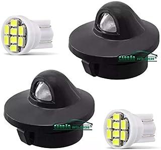 Par Lanterna Luz de Placa Ford Courier F250 Ranger De 1994 A 2010 Com Lampadas LED