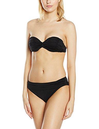 Féraud Damen Bikini-Set 3889505, Gr. 36, 70B (Herstellergröße: 36), Schwarz (Schwarz 10029)