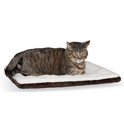 K&H Pet Products Self-Warming Pet Pad Oatmeal/Chocolate 21' x 17'