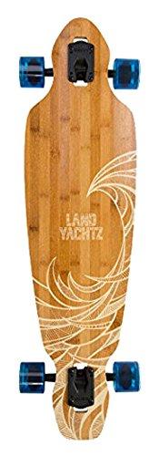 Landyachtz Battle Axe Skateboard Completo Clear Blue 69mm