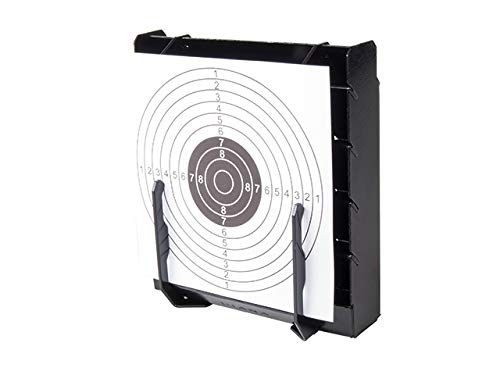 DIANA Scheibenkasten 10x10-14x14 +100 Zielscheiben 14x14 10er Ringeinteilung Stahl