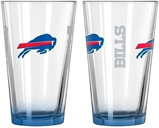 Titan WebStores LLC 2015 NFL Football Elite Series Beer Pints - 16 Ounce Mixing Glasses, Set of 2