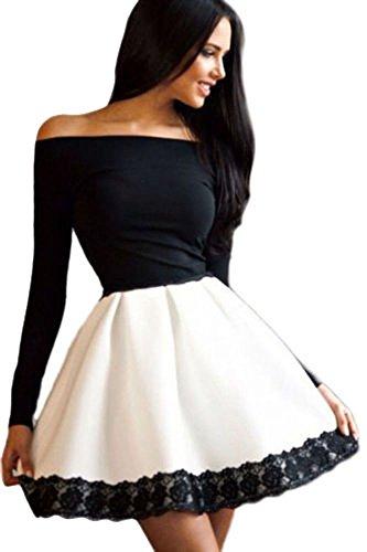 Vestidos para mujer – Vestido corto de niña – Moda moderno de...